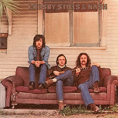 Crosby, Stills & Nash sofa