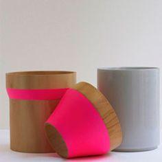 hot pink + grey +wood Pink Grey, Hot Pink, Grey Wood, Love Design, Inspired Homes, Ultra Violet, Decoration, Typography Design, Color Combos