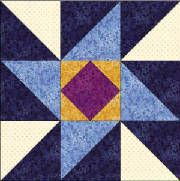Quilters Corner Club - index of 50 free state quilt block patterns