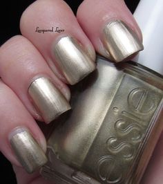 'Good as Gold' is a yellow gold chrome - Mirror Metallics collection - summer 2012.