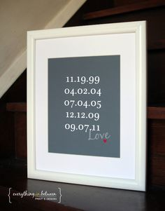 Valentines Day  Wedding Gift or Anniversary by BetweenEverything, $24.00