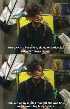 Definitely remember this episode of Fresh Prince of Bel-Air...lol oh fresh prince days!