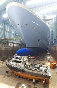 Quantum of the Seas build photo - From gallery at http://www.royalcaribbeanpresscenter.com/images/#