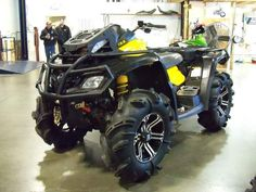 Used 2012 Can-Am Outlander X mr 800R ATVs For Sale in Nebraska. 2012 Can-Am Outlander X mr 800R, 2012 Can-AM® Outlander X® mr 800R The Outlander X® mr includes numerous mud-riding features that create a more effective mud machine, as proved by our success in many ATV championship mud races. We brought the air intake as high as possible on the ATV so the engine can breathe easily. It also has adjustable-on-the-fly front and rear Air Control Suspension (ACS). Our partnership with Gorilla Axle…