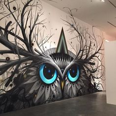 Chaos Owl by Jeff Soto