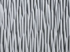 MDF 3D Wall Panel THALWEG METAL GLOSS Gloss Collection by Marotte®