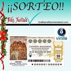 Sorteo de Navidad Décimo Lotería Navidad