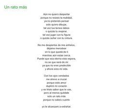 Un rato más por Diana García Botero
