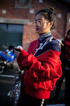 Street style at Milan Fashion Week Fall 2017