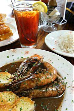 レシピとお料理がひらめくSnapDish - 19件のもぐもぐ - Cafe Des Amis Breaux Bridge Louisiana  #BBQ #Shrimp #Dinner #Seafood French #Bread  #Main dish  by Alisha GodsglamGirl Matthews
