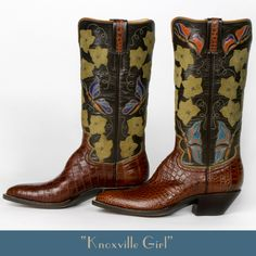 Lisa Sorrell Custom Boots Cowboy boot prices start at $5000; the price after that depends on your leather and design choices.