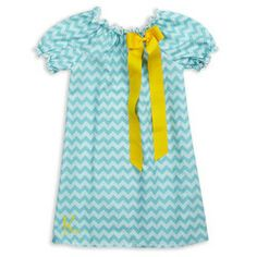 Check out this Double Aqua Chevron Charlotte Dress for $29 or find your favorite gifts at Lolly Wolly Doodle. Click on the link to receive three dollars off your next order!