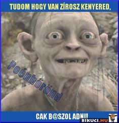 Tudom, hogy van zsíros kenyered... Vicces képek  #humor #vicces #vicceskep #vicceskepek #humoros #vicc #humorosvideo #viccesoldal #poen #bikuci Funny Memes, Jokes, Lotr, Hungary, Puns, Cute Animals, Comics, Movie Posters, Clean Puns