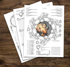 Brett Bullion is an artist based in Austin. He favours dark fantasy art, citing influences like The Dark Crystal, Neil Gaiman, Lovecraft and the Banner Saga. Character Creation Sheet, Dnd Character Sheet, Character Art, Character Design, Dungeons And Dragons Characters, D&d Dungeons And Dragons, D D Characters, Warlock Spells, Dnd Sorcerer
