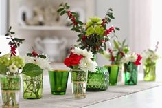 Curious Details - I think I'll start keeping an eye out for antique green glassware!