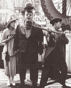 """Coney Island"" (1917) Fatty Arbuckle, Buster Keaton"