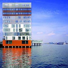 The Silodam residential building in Amsterdam by MVRDV