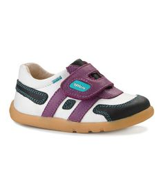 Take a look at this Grape & Black i-walk Swift Sport Sneaker by Bobux on #zulily today!