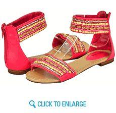 All New Breckelles Echo-14 Hot Pin Women Flat Sandals