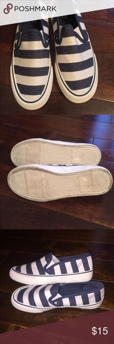 NWOT, Slip ons, MOSSIMO, Size 6 Darling, never worn!!! Mossimo Supply Co Shoes Sneakers