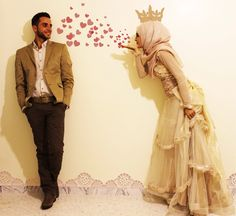 Amal To Get Husband Love in Islam Cute Muslim Couples, Romantic Couples, Cute Couples, Romantic Weddings, Wedding Poses, Wedding Couples, Wedding Dresses, Wedding Hijab, Wedding Ideas