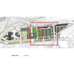 Housing Construction | Tania Concko | Architects Urbanists  EURALILLE 2 - LOT 1B Urban Plan © Agence Dusapin-Leclerc architects / SAEM Euralille