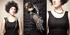 Gabrielle Desmarais. sterling neckpiece. Canadian Jewelry.