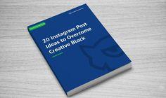 20 Instagram Post Ideas to Overcome Creative Block [Free eBook] http://itz-my.com