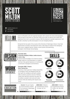 Self Promotion Stationery Set by Scott Milton, via Behance