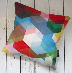 Obsessed. Could design a whole room around this pillow.