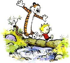 Calvin and Hobbes - My Favorite Sites by Chester Kosulinski