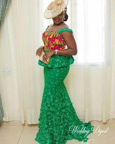 latest ankara skirt and blouse styles ankara skirt and blouse,latest ankara styles skirt African Lace Styles, African Lace Dresses, Latest African Fashion Dresses, African Dresses For Women, African Print Fashion, African Attire, African Wear, African Style, Kente Styles