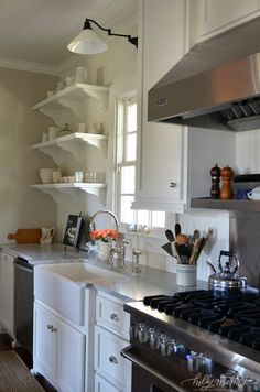 Louisiana kitchen: before & after | Holly Mathis Interiors