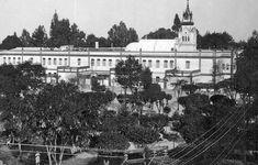 El edificio del colegio Sara L. Keen, ubicado en el número 76 de Serapio Rendón, colonia San Rafael.