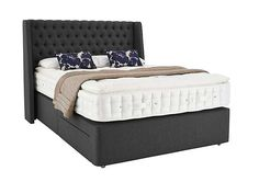 Hypnos Revive Opulent Cashmere Super King Size Superbly comfortable upholstered divan bed with mattress Supportive firm edge open coil pocket sprung divan base Luxurious, tufted, turnable pocket sprung mattress ]]> http://www.MightGet.com/january-2017-11/hypnos-revive-opulent-cashmere-super-king-size.asp
