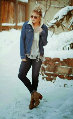 Winter Fashion Oufit For Cute Girls