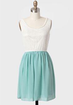Mint Decades Past Embellished Dress #ruche #shopruche
