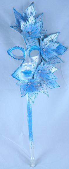 turquoise venese mask