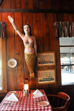 The Lobster House at Cape May..They have Giant Lobsters for sale...I mean BIG