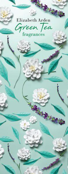 Paper Flowers by Jo Lynn Alcorn for Elizabeth Arden Green Tea Fragrances