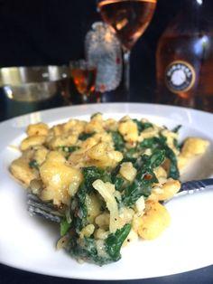 Video Vegan – Super Easy 5-Ingredient Homemade Frascatelli Pasta with Mustard Greens & Parmesan Cheese