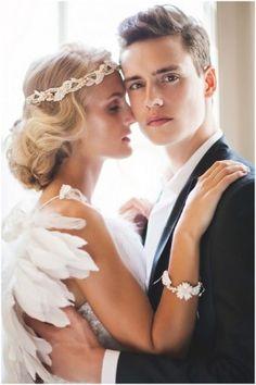 The Jannie Baltzer 2013 'Love' Collection | Bridal Hair Accessories