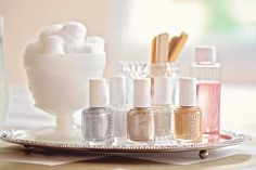 Mixed Metallics Manicure Party