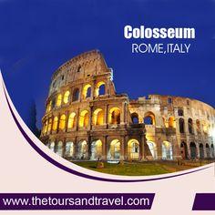 #COLOSSEUM Rome, #ITALY...