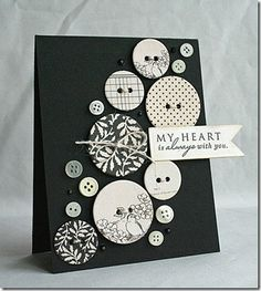 "Lovely card by #Kimberly Crawford --the ""Queen of Cards"" in my book! #Spellbinders"