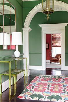 Hallway by Eoin Lyons Interiors  www.waringsathome.co.uk