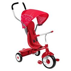 Radio Flyer Kid's 4 in 1 Trike Red : Target