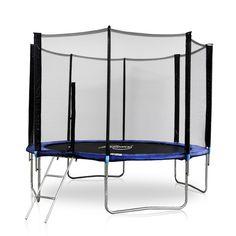 physionics© Trampolin Ø4,57m inkl. Sicherheitsnetz und Leiter günstig kaufen bei JAGO24.de | physionics© trampoline Ø4,57 m with ladder and safety net. | Jago24