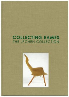 """A hardcover book full of beautifully detailed photographs of a large portion of the JF Chen Eames Collection. Includes quotes and anecdotes about the various types of Eames designs – from steel wire to molded plastics to graphic design. Companion piece to JF Chen's exhibition, """"Collecting Eames: The JF Chen Collection,"""" which includes over 400 pieces of rare and vintage Charles and Ray Eames pieces, and the most comprehensive collection of their work. Limited edition."""