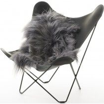 Natures Collection Icelandic Sheepskin Grey Brisa - lambskin all available at room plus